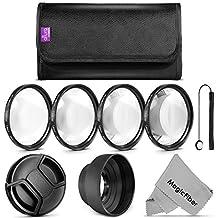 Altura Photo 58MM Macro Close Up Set with Accessory Kit for CANON EOS Rebel T5i T4i T3i T3 T2i T1i XT XTi XSi SL1 DSLR Cameras