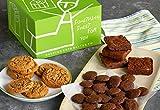 Dancing Deer Fresh Baked Gourmet Cookie & Brownie Gift Box - 4 pcs Chocolate Chunk Brownie, 7pcs Chocolate Chip Cookies, 5 oz Bag Crispy Chocolate Cookie Bites, Gluten Free Certified, Kosher Certified