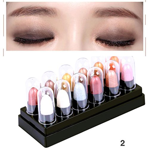 YJYdada 12 Colors Renaissance Eye Shadow Makeup Cosmetic Shimmer Matte Eyeshadow Palette (B) (Mirror Renaissance Two Light)