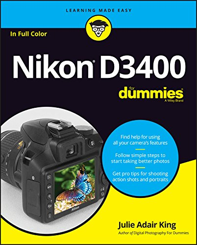 Nikon D3400 For Dummies (Best Rated Canon Camera)
