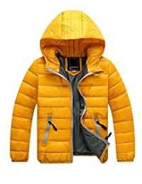 Gxia Childrens Unisex Discounted Winter Lightweight Hooded Down Jacket