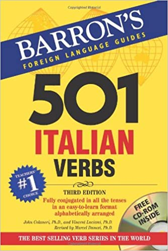 501 Italian Verbs (3rd Edition) (Barrons Foreign Language Guides)