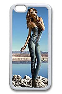 iPhone 6 Plus Case, Case for Apple iPhone 6 Plus, Cowgirl Fit For Apple iPhone 6 Plus, TPU Soft Rubber Bumper Screen Protector For Apple iPhone 6 Plus [Shock-Dispersion] [Slim Fit]