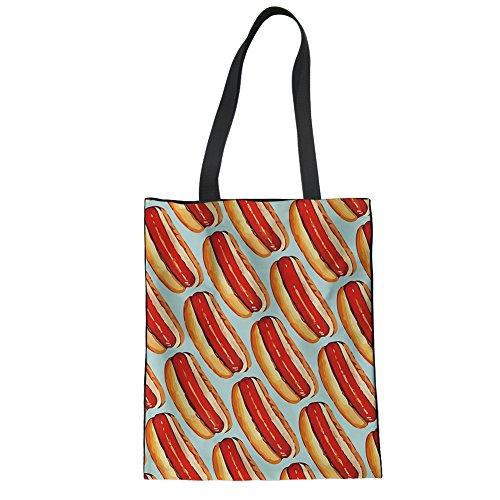 pattern 34cmx42cm Piup Pour Cabas Femme Printing PI6xwZ6v