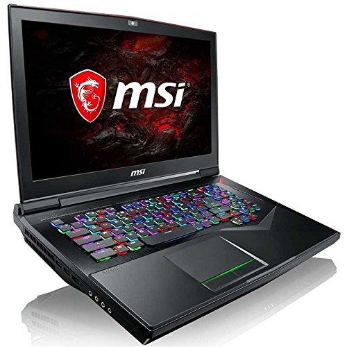 MSI GT75VR TITAN PRO-215 VR Extreme Gaming Laptop, 17.3″ G-Sync 120Hz 3ms i7-7700HQ GTX 1080 8G/16GB/256GB SSD + 1TB, Aluminum Black