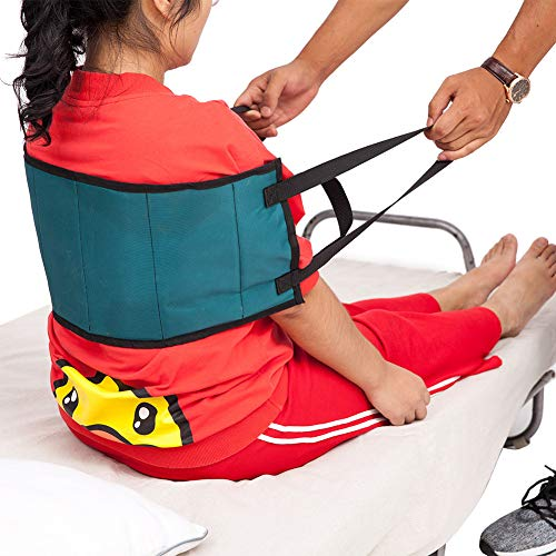Padded Transfer Sling, Patient Lift Sling Transfer Belt, Soft Moving Assist Hoist Gait Belt Harness Device, Medical Belt for Wheelchair, Bed ZYD02