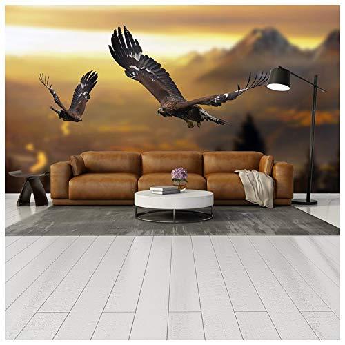 Azutura Berglandschaft Fototapete Adler Tapete Wohnzimmer Schlafzimmer Dekor Erhältlich in 8 Größen Riesig Digital