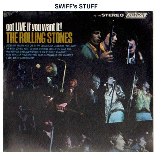 Got LIVE If You Want - Rolling Stones Live Vinyl