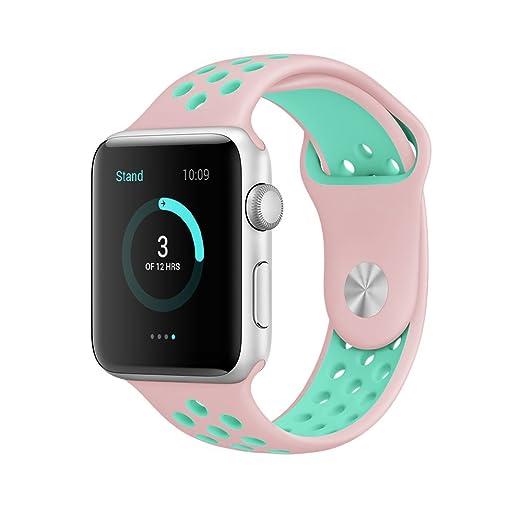 171 opinioni per Cinturino Apple Watch, Elobeth Apple Watch Serie 1 Serie 2 Morbido Braccialetto