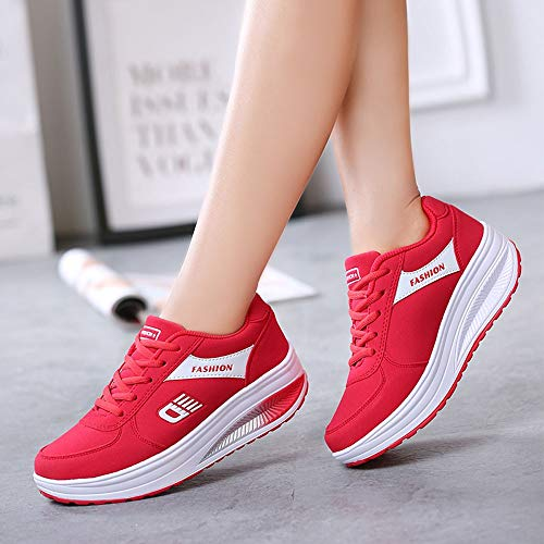 Sneakers Andres Course Levage Rouge Mark De Rocker Chaussure Femmes Derby Infrieur Oxford Mode Betis Flamenco Doux Alikeey Slippers vaq0a