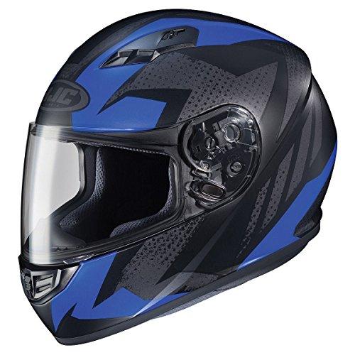 Blue Motorbike Helmet - 7