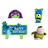 Amscan Cake Candle Set | Disney Monsters University Collection | Birthday