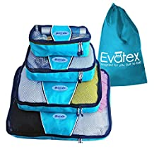 Packing Cubes | Travel Packing Cubes-4pc Set | Packing Cubes for Travel |Used for Different Purposes, Cosmetic Bag | Toiletry Bag | Toiletry Bag For Women | Makeup Bag | Travel Bag | Luggage | Top Quality and Affordable with 100% Refund Guarantee!