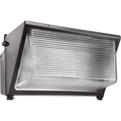 RAB WP4H320PSQ Pulse Start Metal Halide Large HID Wallpack with Glass Lens 320 Watts quad tap Bronze by RAB Lighting
