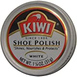 Kiwi Shoe Polish White - 1-1/8OZ. / 32g