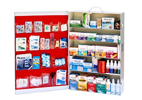 Medique Products 738ANSI Filled Five Shelf First Aid - First 5 Shelf Aid