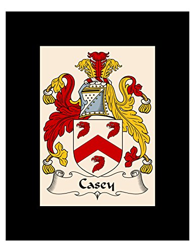 - Carpe Diem Designs Casey Coat of Arms/Casey Family Crest 8X10 Photo Plaque, Personalized Gift, Wedding Gift