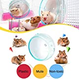 Goldeal 4.7 Inches Silent Hamster Wheel, Hamster