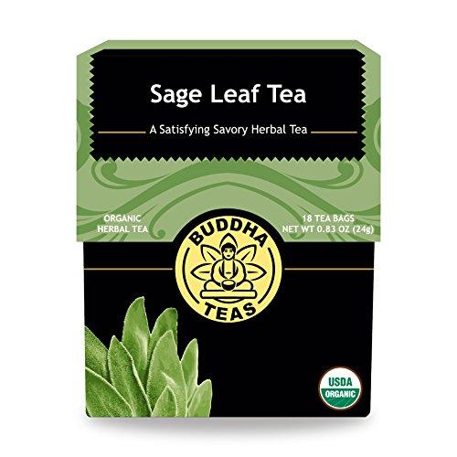 Organic Sage Leaf Tea Caffeine Free