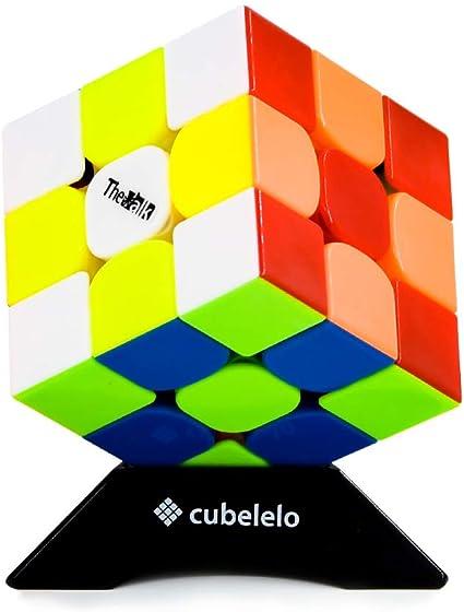 Cubelelo Qiyi Valk [3] 3X3 Stickerless - Multi Color