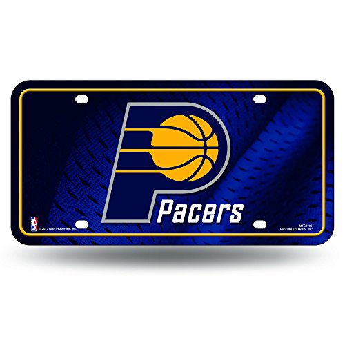 NBA Indiana Pacers Metal License Plate (Indiana Pacers Nba Car)