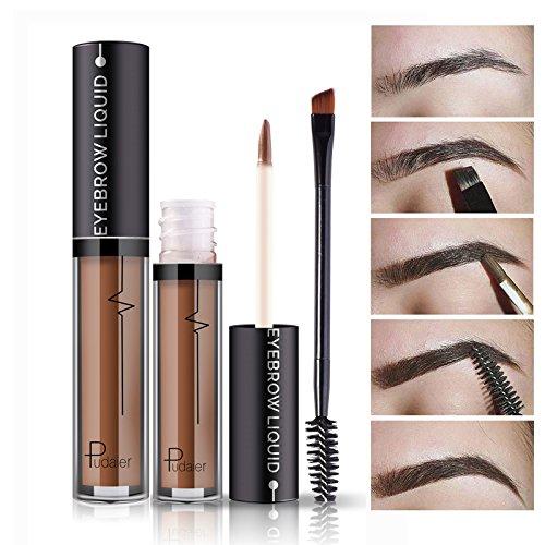 Professional Makeup Eye Brow Tattoo Cosmetics Long Lasting Pigments Waterproof not Fade Eyebrow Liquid with Brush