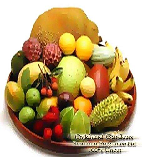 - Bulk x CARIBBEAN FRUIT - Fragrance Oil - Delightful scent of island fun, a blend of sweetfruit nectars - By Oakland Gardens (120 mL - 4.0 fl oz Bottle)