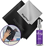 LCD, LED, TV and Monitor Screen Cleaning Kit - Spray Bottle w/ Extra Large and Original MagicFiber Microfibers - Streak Free, Alcohol Free, Ammonia Free, Odor Free