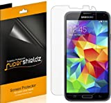 [6-Pack] Supershieldz- High Definition Clear Screen Protector For Samsung Galaxy S5 (AT&T, Sprint, T-Mobile, Verizon, US Cellular, All Carriers) Galaxy S5 Screen protector- Retail Packaging