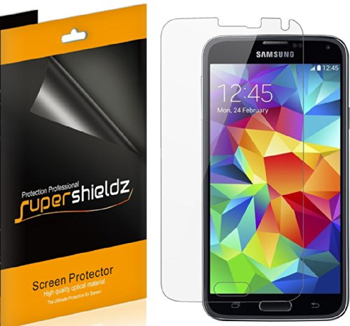 6-Pack-SUPERSHIELDZ-Anti-Glare-Anti-Fingerprint-Matte-Screen-Protector-Shield-For-Samsung-Galaxy-S5-Lifetime-Replacements-Warranty-6-PACK-Retail-Packaging