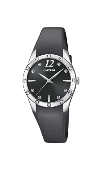 Calypso Reloj Análogo clásico para Mujer de Cuarzo con Correa en Plástico K5714/4: Calypso: Amazon.es: Relojes