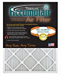 Accumulair Titanium High Efficiency Allergen Reduction Air Filter/Furnace Filters (4 pack)