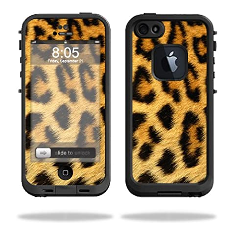 Skin Decal Wrap for LifeProof iPhone 5 Case 1301 fre sticker Cheetah (Iphone 5 Cases Cheetah)