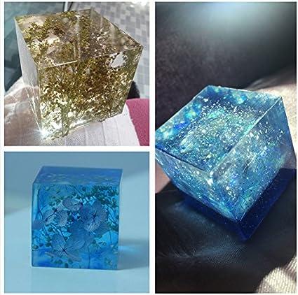 B /époxy AB transparente cristalline 13 pigments de couleur 2 barres /à m/élanger 2 tasses /à m/élanger kit r/ésine cr/éations de bi Joligel R/ésine deux parties A 50 b/âtonnets orange GRATUITS