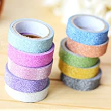 5X Blingbling Album Decorative Tape Masking Tape Washi Adhesive Stationery Scotch Sticker Fita Adesivo Scrapbooking Tool