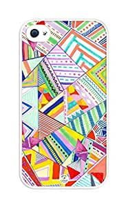 iphone covers Geometric Design Light Colors Pattern cardiac iPhone 6 plus a case - Fits iPhone 6 plus & ischaemia iPhone 6 plus lots