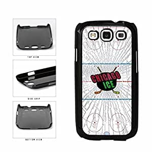 Chicago Ice - Plastic Phone Case Back Cover Samsung Galaxy S3 I9300