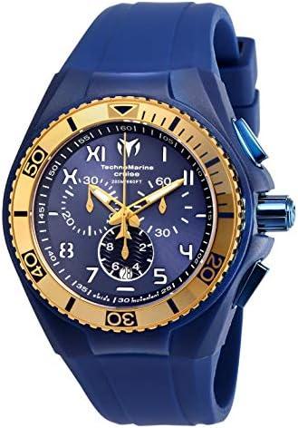 Technomarine Men s Cruise California Swiss Quartz Stainless Steel Casual Watch Model TM-115010