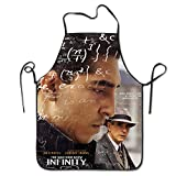 img - for THE MAN WHO KNEW INFINITY Poster Movie Personalized Kitchen Cooking Aprons book / textbook / text book