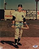 Mickey Mantle Autographed Photo - 8x10 NY 1951 SHOT W07046 - PSA/DNA Certified - Autographed MLB Photos