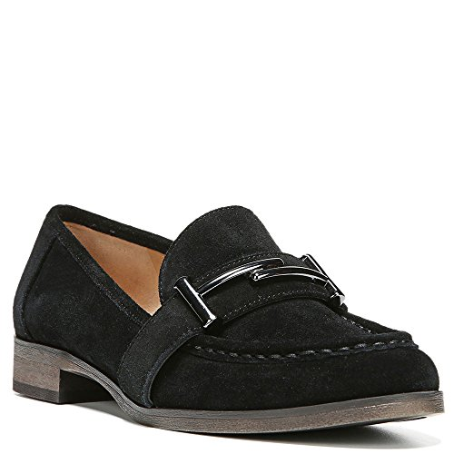 buy cheap discount sale cost Franco Sarto Women's Baylor Slip-On Loafer Black Velour Suede cheap discount sale 5UuXrWn