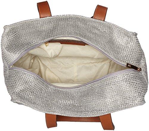 Shopper Tote silber Borse Argento Donna Sahali Bulaggi w51APqzA