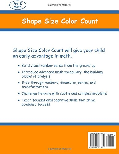 Shape size color count brian murray 9781541303751 amazon books fandeluxe Choice Image