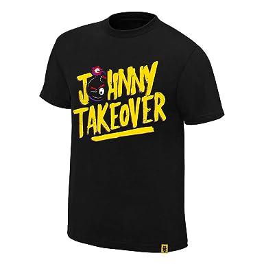 5092ab5da Amazon.com: Johnny Gargano Johnny Takeover Authentic T-Shirt: Clothing
