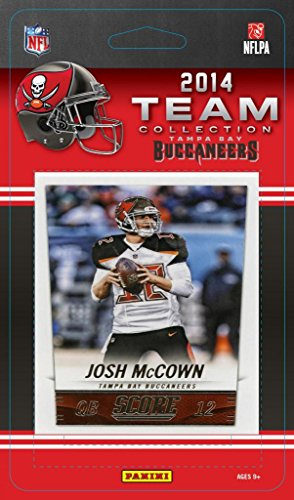 Tampa Bay Buccaneers 2014 Score NFL Football Factory Sealed 12 Card Team Set with Mike Glennon, Josh Mccown, Mike Evans Plus