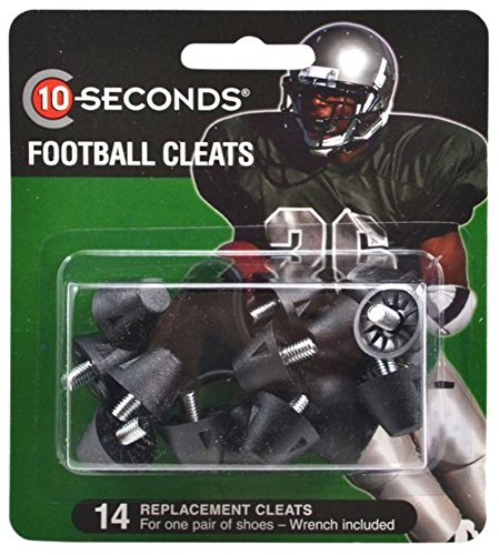(10-Seconds 14 Replacement Football Cleats 3/4