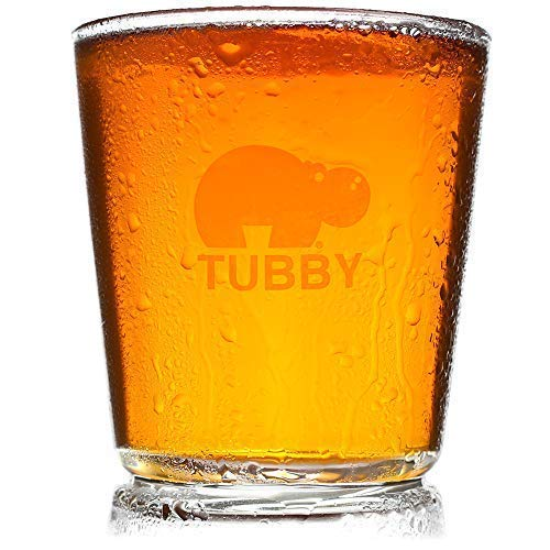 Classic Tubby 16oz Pint Glass - Because Pint Glasses are Too Tall and Too Skinny