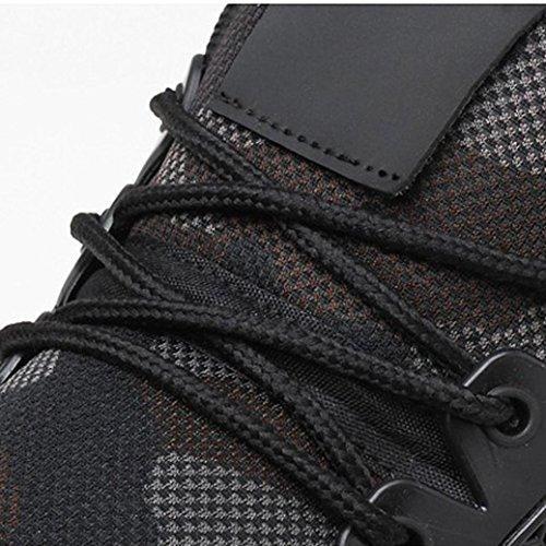 Sneakers Leggera Sportivi Ragazza Basse Casual Sportive Uomo Respirabile Gym Scarpe Ginnastica Chenang Nuotare Outdoor 2018 Nero Running Traspirante Fitness da Corsa TXxpFpYq