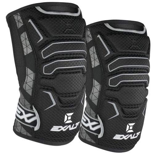 Exalt Paintball FreeFlex Knee Pads - Black - Medium by Exalt