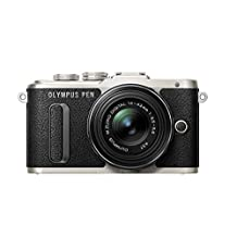 Olympus E-PL8 Black Camera with 14-42mm IIR lens
